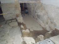 Průběh realizace opravy schodiště