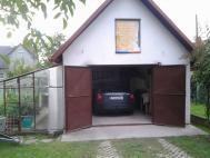 Rozšíření vjezdu a oprava fasády garáže