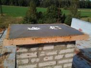 Průběh realizace opravy komína