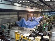 Malba výrobní haly