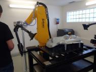 Robotizované pracoviště - zkušební provoz