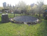 Tvorba plochy pod zahradní bazén