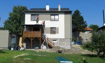 Stavba zastřešené terasy