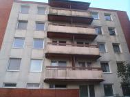Výchozí stav stěn a balkonů